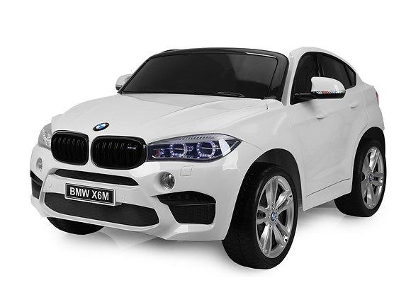 LARGE 12V White BMW X6 Electric Kids Ride On Car