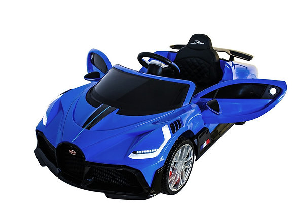 12V Blue Bugatti Divo Electric Ride On Car For Kids