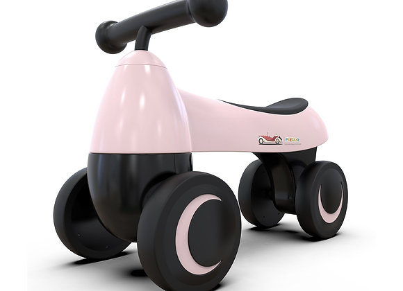 Pink Baby Balance Bike For Kids 1-2 Years Old