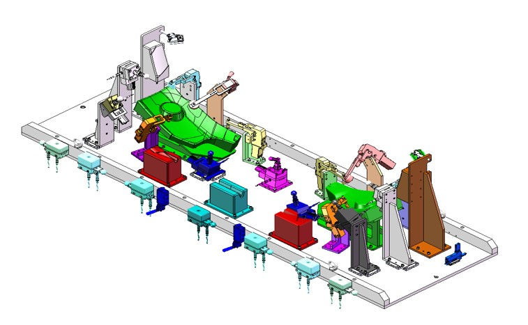 manufacturing fixtures jigs tooling design build services
