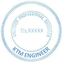 licensed professional engineers PE seal