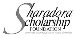 SHARADORA SCHOLARSHIP LOGO-GRAY-color no