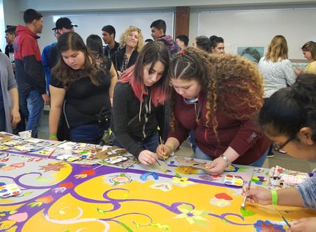 Cuid-Arte & Empoder-Arte at the Hammonton Teen Arts Festival