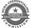 NCDA CREDENTIALING Commission logo-gray.