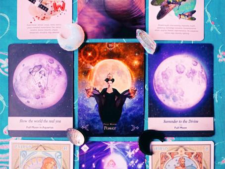 Full Moon in Aquarius Reading