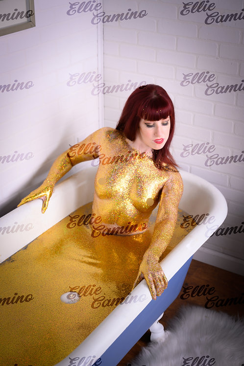Signed 8x10 Glitter Bath -3