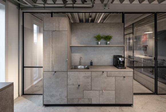 Interieur kantoor Modernista