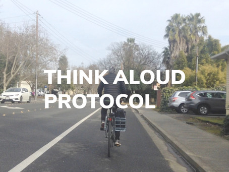 Think Aloud - Ride Along now Think Aloud Protocol
