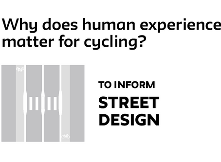 Why human experience matters for cycling