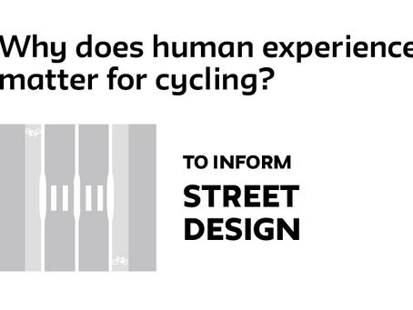 Why human experience matters for cycling practitioners