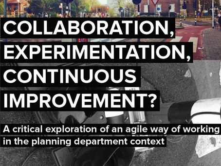 Future research for agile in planning departments