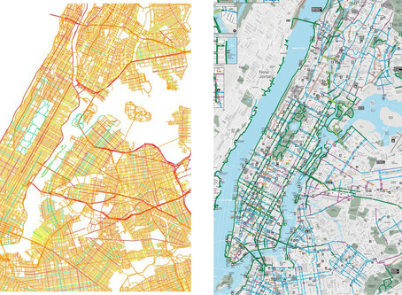 Mapping the Bicycling Environment