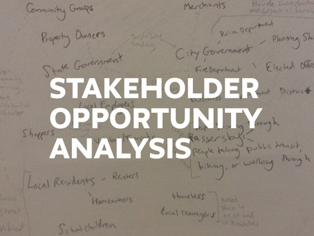Stakeholder Opportunity Analysis Method