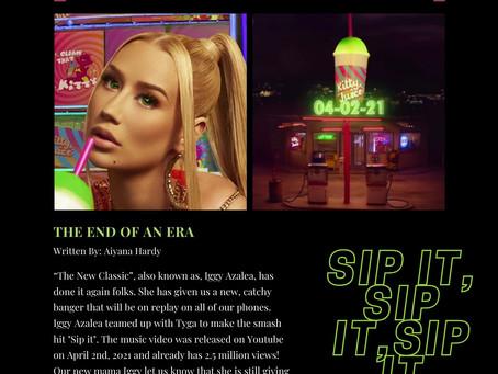 Sip It by Iggy Azalea: Music Video Review
