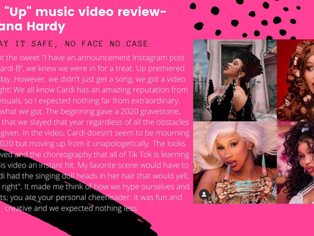 "Cardi B: ""Up"" Music Video Review"