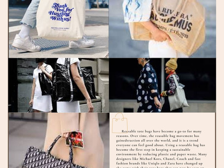 Reusable Tote Bag: An Eco-Friendly Accessory You Can Feel Good About