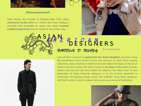 Asian American Designers You Need to Know in 2021