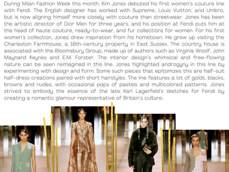 Fendi Serving Fancy in Milan Fashion Week: Spring 2021 Couture