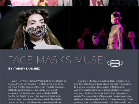 Face Masks: The New Muse