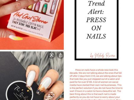 New Trend Alert: Press On Nails
