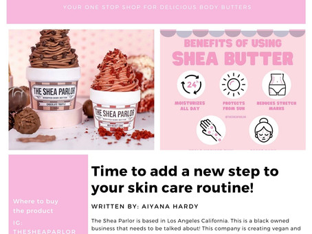 The Shea Parlor: Your One Stop Shop for Delicious Body Butters