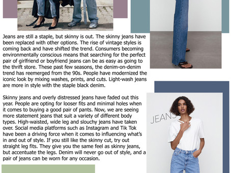 JEANS: The Ever-Changing Staple Piece