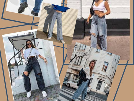 Baggy Jeans: The Comfy Silhouette Everyone Wants in 2021