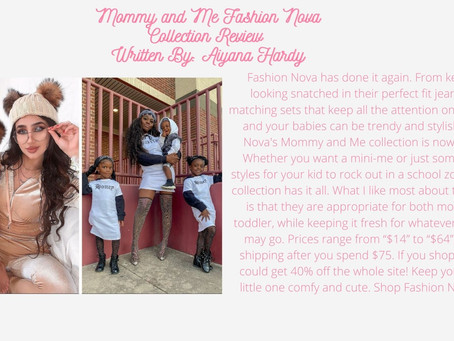 Fashion Nova: Mommy and Me Collection Review