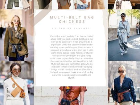 Trend Alert: Multi-Belt Bags