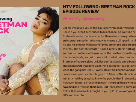 MTV Following: Bretman Rock First Ep Review