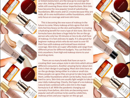 Skin Tints: Making Waves in the Makeup World