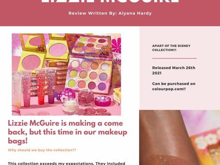 ColourPop x Lizzie McGuire: Disney Collection Review