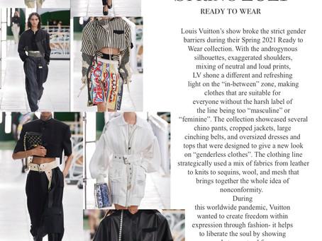 Louis Vuitton Breaking Boundaries in RTW Spring 2021