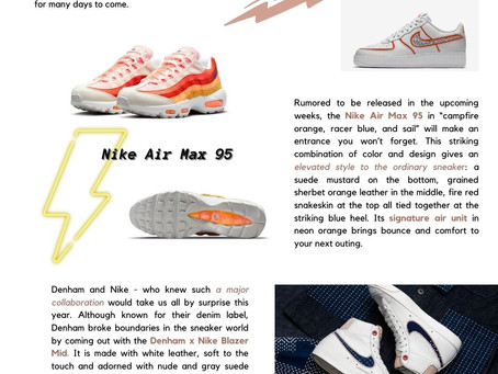 SNEAKERS: Spring & Summer 2021 Edition