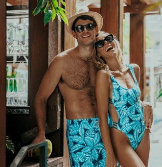 Hot Summer Trend:  Matching Swimwear for Couples and Friends