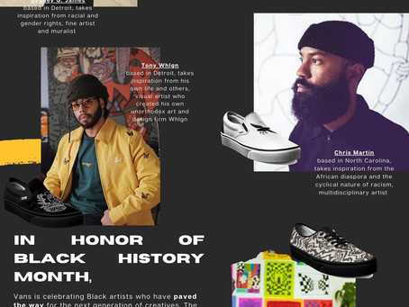 Vans Collaboration with Black Creatives for Black History Month