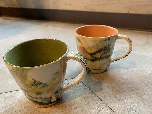 KinuyoYamashitaのうつわマーブル柄マグカップ