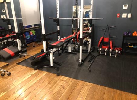 Canaryにトレーニングスタジオがオープン!