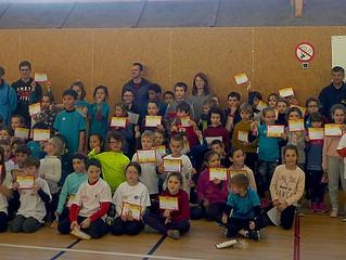80 enfants à la rencontre d'athlé à Breteil