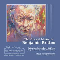 Britten Poster