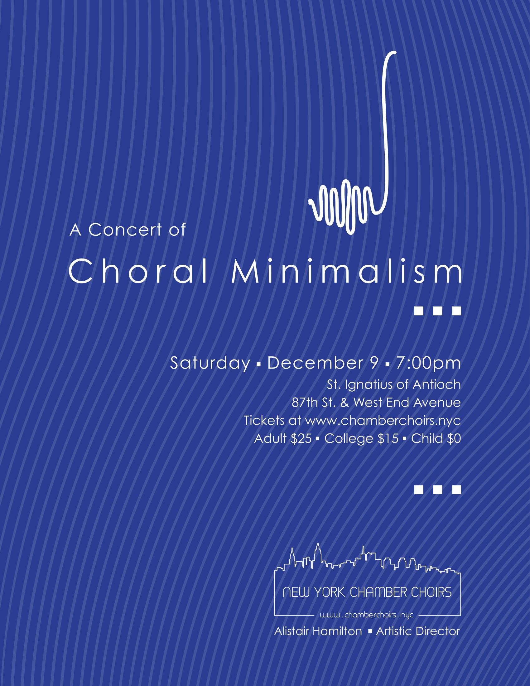 Choral Minimalism