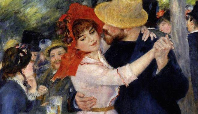 Danse à Bougival, 1883, Pierre-Auguste Renoir