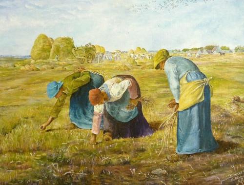 Les glaneuses, Millet