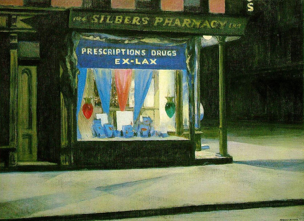 Drug Store, Hopper