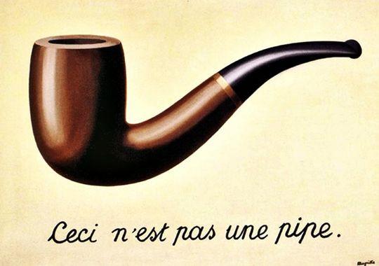 La Trahison des images, Magritte