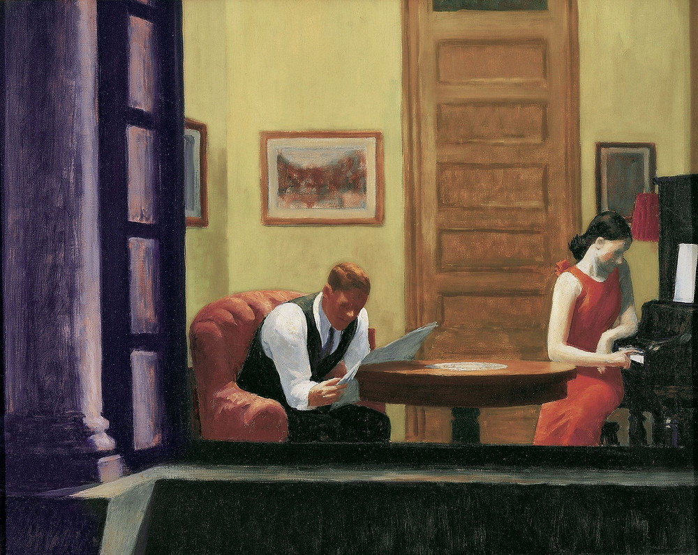 Room in New York, Hopper