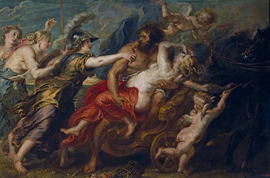 L'enlèvement de Proserpine, Pierre Rubens 1636