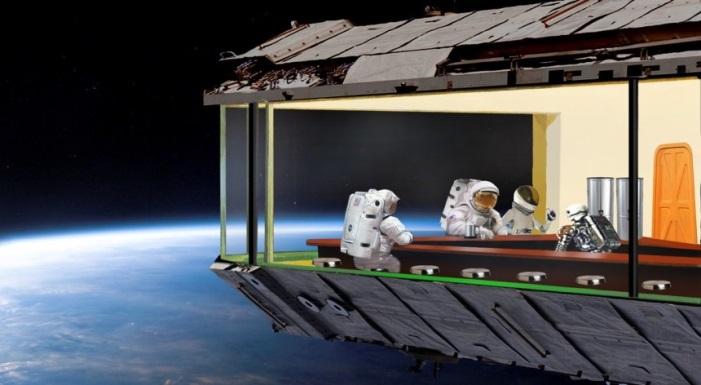 Nighthawks dans l'espace