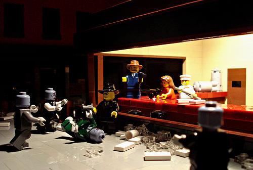 Nighthawks version Lego