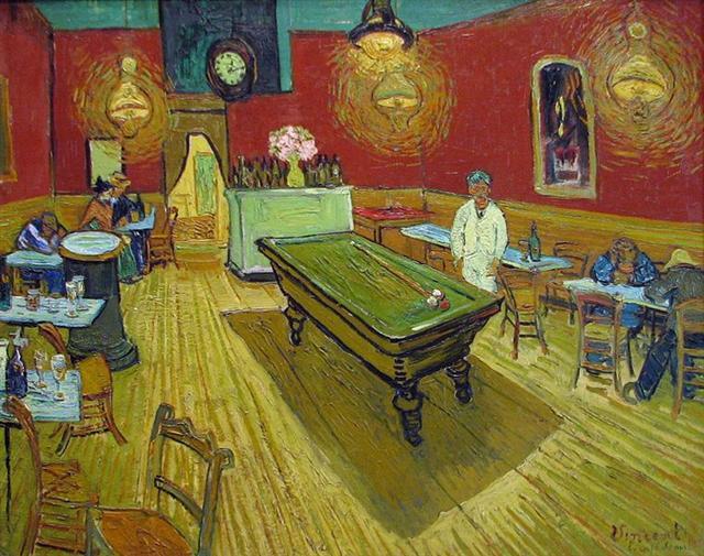 Van Gogh, Le café de Nuit